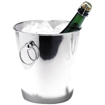 seau à champagne en inox poli 200 x 202 mm