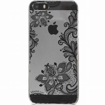 Coque Iphone SE crystal Dentelle