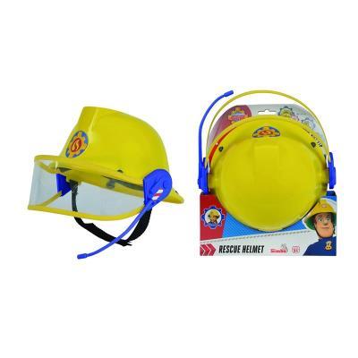 Simba Toys 109258698 Pompier Sam - Casque de Pompier