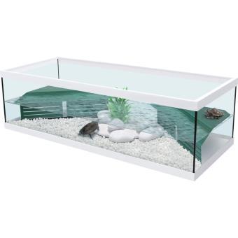 4 20 sur aquarium pour tortue d 39 eau tortum 100 blanc filtre achat prix fnac. Black Bedroom Furniture Sets. Home Design Ideas