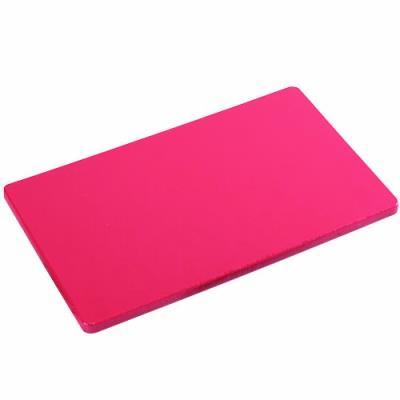Kesper haccp 30153 planche à découper en plastique 53 x 32,5 x 1,5 cm rouge