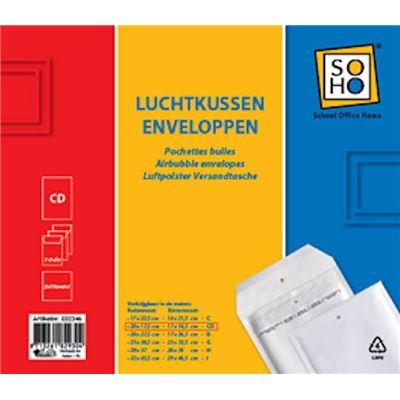 Coussin d'air SOHO Envelope CD 3 pièces
