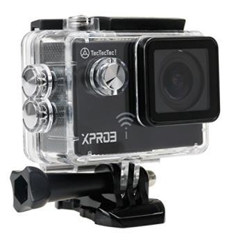 TecTecTec XPRO3 Caméra Sport Ultra HD 4K Action Cam Wifi étanche