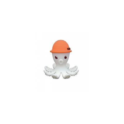 Jouet de dentition Pieuvre 3D Orange