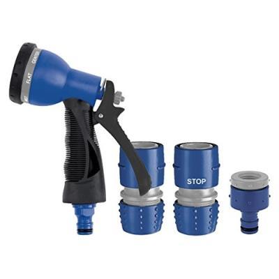 Tatay 0007501 Kit Pistolet D'Arrosage 7 Positions Plastique Bleu
