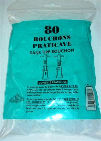 Bouchonnerie jocondienne bouchon(80) praticave*plast.*sachet*s