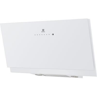 Electrolux EFV90673OW - Hotte - hotte décorative - largeur : 89.8 cm - profondeur : 36.8 cm - evacuation & recyclage - blanc