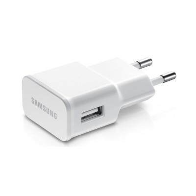 Samsung Galaxy S2 Chargeur secteur + cable BLANC Micro USB d'Origine ETA U90EWE