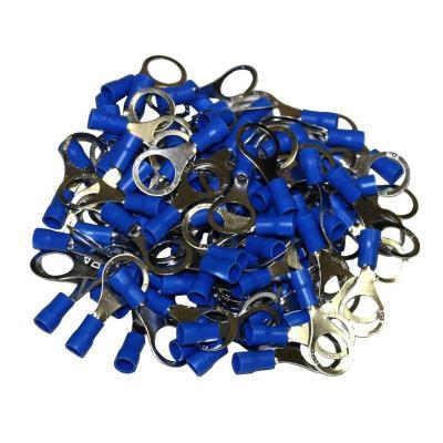 Cosses Electriques A Oeil De 10 Bleues Sachet De 100 Cosses