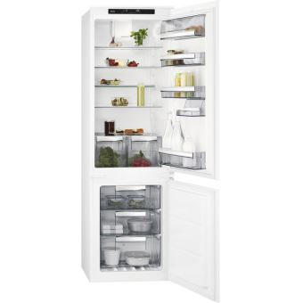 refrigerateur congelateur encastrable aeg sce81816ts achat prix fnac. Black Bedroom Furniture Sets. Home Design Ideas