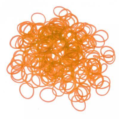 200 élastiques Loom - phosphorescent Orange - Loom