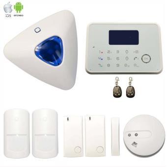 alarme g6 sans fil gsm et rtc avec sir ne d port e et. Black Bedroom Furniture Sets. Home Design Ideas