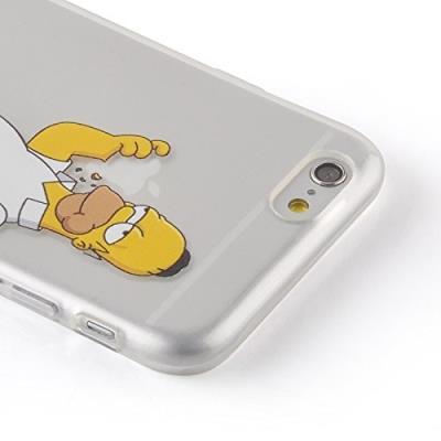 coque iphone xr silicone simpson