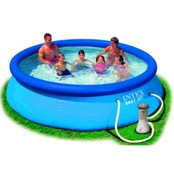 Intex piscines hors sol intex piscine intex easy set - Filtration piscine hors sol intex ...