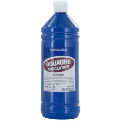 Majuscule - Gouache Liquide Superieur Cobalt - Flacon 1l