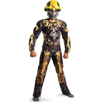 Costume de Transformers Bumblebee Movie Classic musclé pour enfant - 10-12 ans