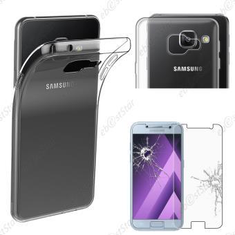ebestStar ® pour Samsung Galaxy A3 2017 A320F - Coque Silicone Gel TPU Etui  Housse Souple Ultra Fine 0,3mm avec Film protection écran en VERRE Trempé,  ... e9a4a26c2785
