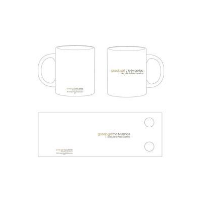 Gossip Girl - Mug en céramique Logo