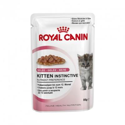 Royal canin - kitten instinctive gelée - 12 sachets