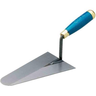 Outibat - Truelle italienne ronde acier 24 cm