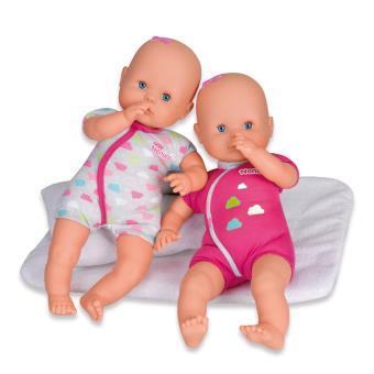 Pack de 2 poupons Nenuco Les Jumeaux 35 cm