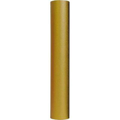 Rouleau de papier Kraft couleur 3 m x 0,70 m, 70 g. Coloris or