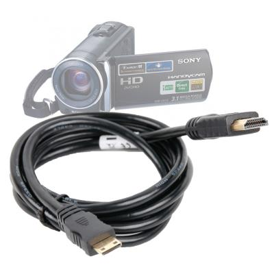 Câble mini HDMI vers HDMI 1,4 mètre pour brancher votre appareil à votre télévision - DURAGADGET
