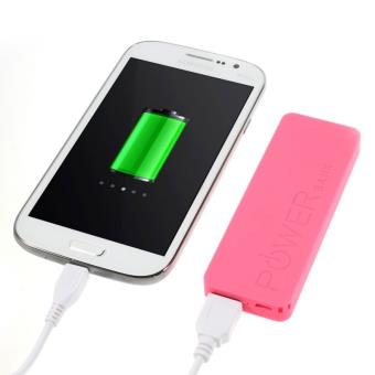 Batterie externe POWER Bank Universel 3000mAh Rose pour iPHONE 5