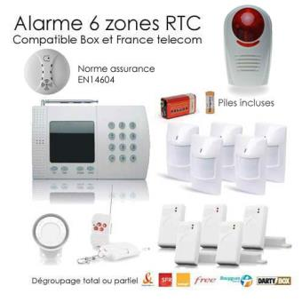 Alarme Maison De 6 Zones XXL SECURITE BOX   Achat U0026 Prix | Fnac