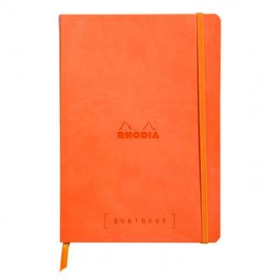 Clairefontaine Rhodiarama - Carnet de notes à points A5 - 240 pages - Tangerine