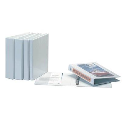 Classeur personnalisable pvc maxi A4 - dos 50 mm - couleur blanc
