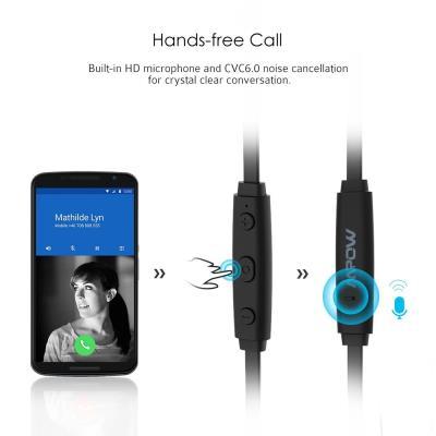 Oreillette Bluetooth écouteurs Bluetooth Mpow Casque Sans Fil Sport