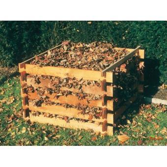 Bac A Compost En Bois Teo 450l Composteurs Et Poubelles De Jardin