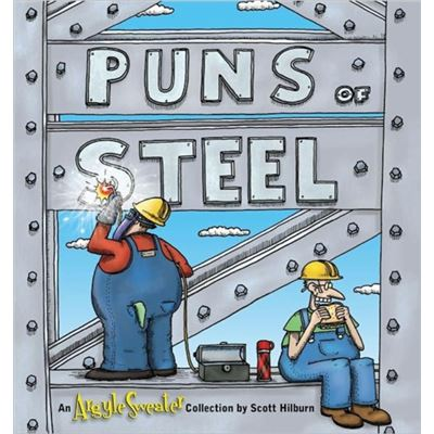 Puns Of Steel Argyle Sweater
