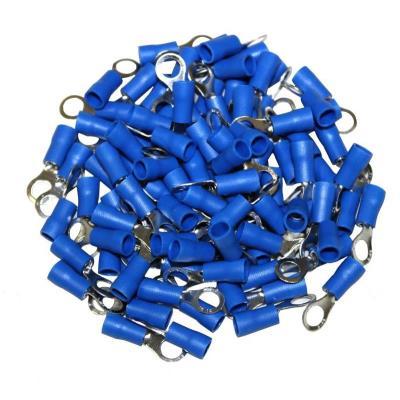 Cosses Electriques A Oeil De 5 Bleues Sachet De 100 Cosses