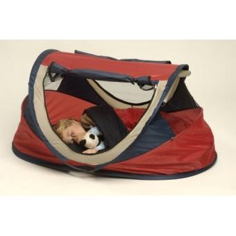 nscessity travel cot baby luxe berceau de voyage tente deryan couleur rouge lits. Black Bedroom Furniture Sets. Home Design Ideas