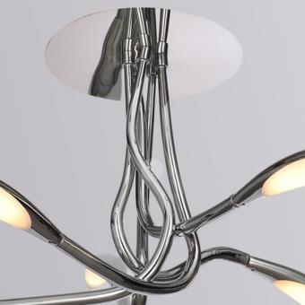 plafonnier led 5 branches