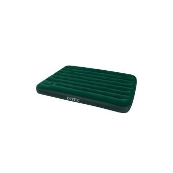 matelas gonflable pompe int gr e intex 2 places vert. Black Bedroom Furniture Sets. Home Design Ideas
