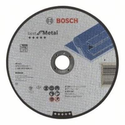 Disque à Tronçonner Droit Best For Metal A Bf 30 V, 180 Mm, 22,23 Mm, 2,5 Mm