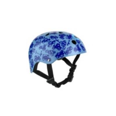 Casque de protection pour trottinette Bleu Taille Medium