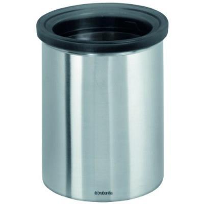 Brabantia poubelle pour dosettes de thé/café acier mat