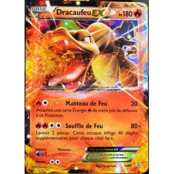 Carte Pokémon 1183 Dracaufeu Ex 180 Pv Ultra Rare