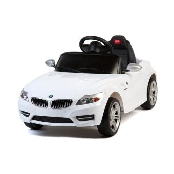 6v voiture lectrique pour enfant bmw z4 blanche 81800w. Black Bedroom Furniture Sets. Home Design Ideas