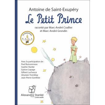 Le Petit Prince Livre Audio Cd