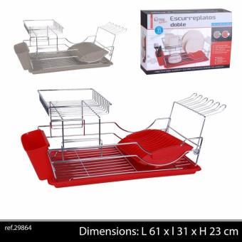 gouttoir a vaisselle pro pour couvert de cuisine decoration sechage couvert couleur rouge. Black Bedroom Furniture Sets. Home Design Ideas