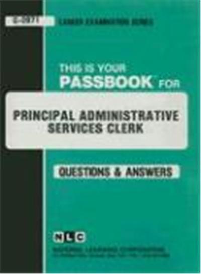 Principal Administrative Services Clerk: Test Preparation
