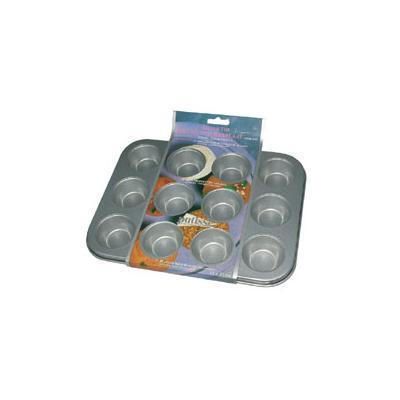 Patisse plaque 12 mini muffins anti adhe.03625