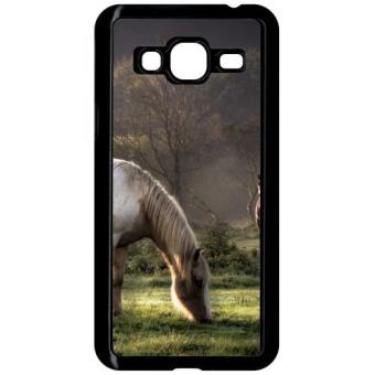 coque samsung galaxie j3 cheval