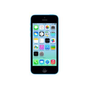 apple iphone 5c bleu 4g lte 16 go cdma gsm smartphone achat prix fnac. Black Bedroom Furniture Sets. Home Design Ideas