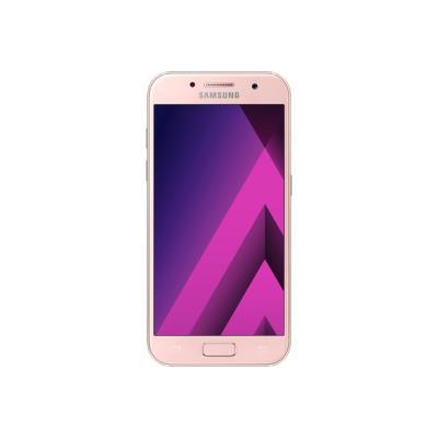 Samsung Galaxy A3 (2017) - SM-A320FL - nuage de pêche - 4G HSPA+ - 16 Go - GSM - smartphone